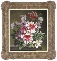 parrott tulips with flowers by bennett oates