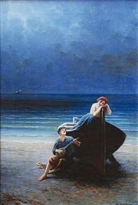 rybářova píseň by karel liebscher