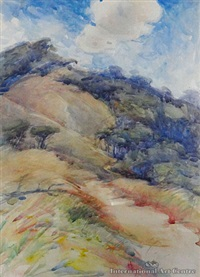 untitled (hillside) by mabel m. hill