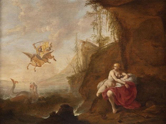 perseus und andromeda by cornelis van poelenburgh