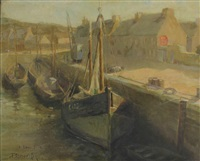 port de pêche by george oberteuffer