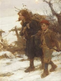 collecting firewood by william m. pratt
