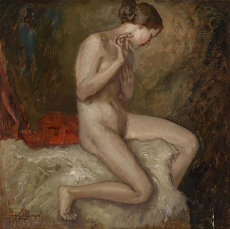 frauenakt by ernst liebermann