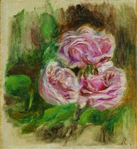 nature morte aux roses by pierre-auguste renoir