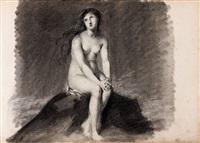 etudes des figures (album w/43 studies) by étienne charles leguay