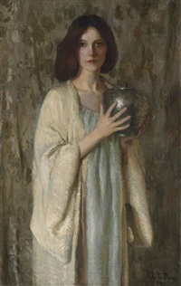 the silver vase by lilla cabot perry