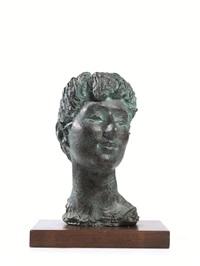 testa di donna by carlo conte