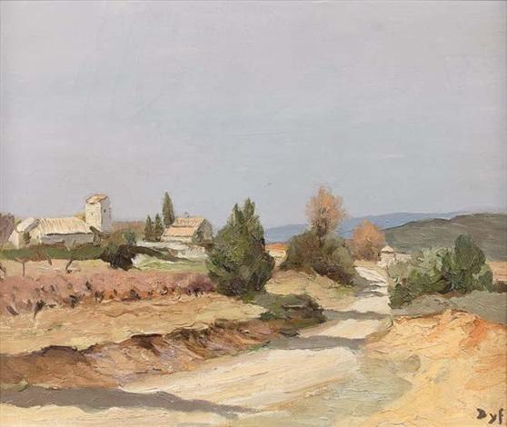 route en provence by marcel dyf