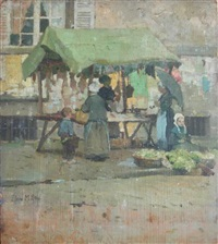 the meat market quimperlé by flora macdonald reid