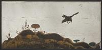landscape with a bird by wladyslaw hasior