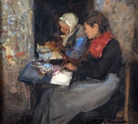 breton women at work by mark senior