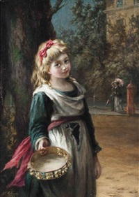 a penny please? by augustus edwin mulready