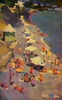 les parasols, 1963 by dmitri i. shmelyov