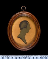 a silhouette of william pitt by john m. field