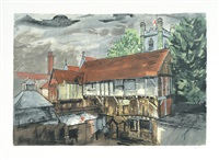 chantry house, henley by john piper