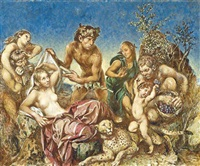bacchus and ariadne by victor hume moody