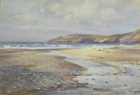 river mouth, aberdaron by c(harles) w(illiam) adderton