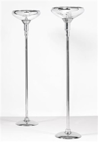 lamps (pair) by donald deskey
