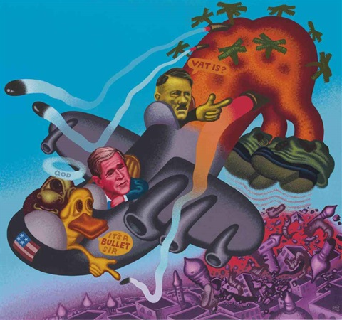gulf war ii by peter saul