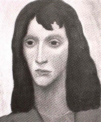 portrait of a woman by richard gabriel