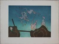 affiche pour l'exposition matta by roberto matta