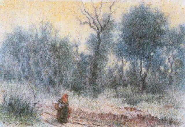 mujer en el bosque by josé josep aguilera martí
