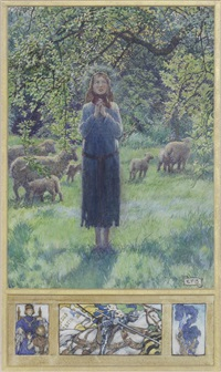 joan of arc by eleanor fortescue-brickdale