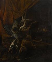 tableau de chasse by cornelis van lelienbergh