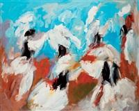 les danseuses by vanecha roudbaraki