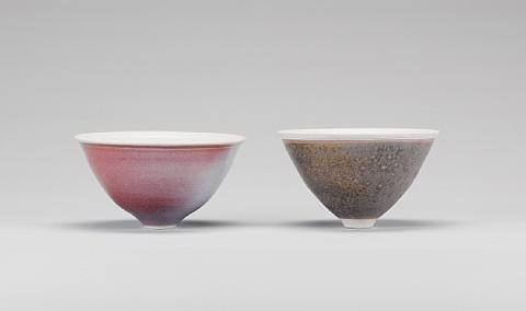 footed bowl by peter omalley