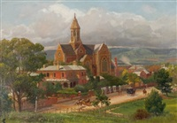 the cathedral, adelaide by edmund gouldsmith