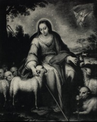 la divina pastora by domingo martinez