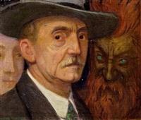 selbstporträt by friedrich könig