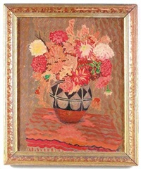 still life of flowers by emil armin