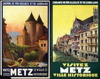 metz (2 works) by henry de renaucourt