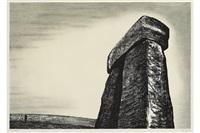 stonehenge iii by henry moore