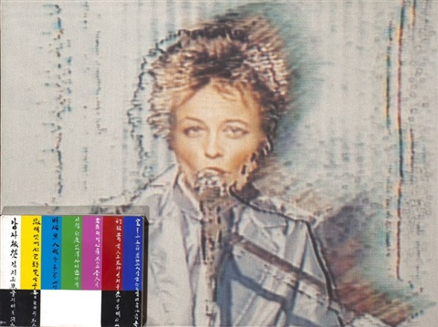 sans titre laurie anderson by nam june paik