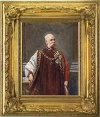 kaiser franz joseph i. von österreich by adolf liebscher