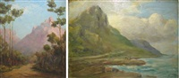 edge of the woods, rondebosch (+ glencairn; 2 works) by edward clark churchill mace