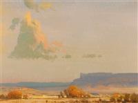 late desert light by rod goebel