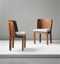 chairs (from the lovö series) (pair) by axel einar hjorth