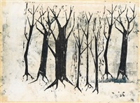untitled (trees) by sol lewitt
