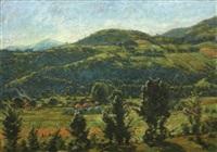 cluj hills by emil cornea