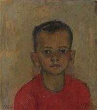 portrait of a boy by henry varnum poor
