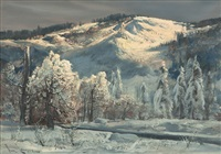 sierra snow by paul lauritz
