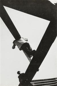 na stroike (on the building site) by boris ignatovich