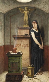 an allegory of vengeful love by louis hector leroux