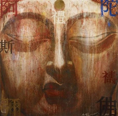 buddha xii by ma tse lin