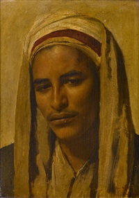 a young arab by franz xavier kosler