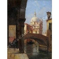 venezia, chiesa si s. maria dei miracoli by vincenzo cabianca
